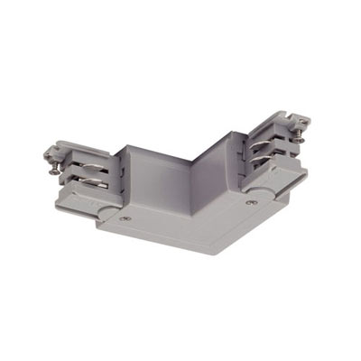 L-CONNECTOR for S-TRACK 240V 3-circuit surface-mounted track SLV